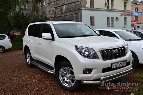 купить toyota land cruiser prado тойота прадо 2011 г.в. в уфе по цене 1750000 руб. autodmir.ru автомобили и цены